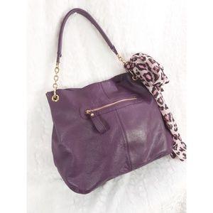 Purple Shoulder Bag